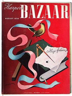 Original 1930s A.M. Cassandre Harper's Bazaar Covers for Sale