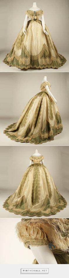 Dress ca. 1865 French | The Metropolitan Museum of Art