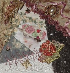 I ❤ crazy quilting . . . TW Maire1- By Pinyon Creek Stitchin'