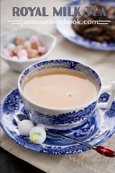 Royal Milk Tea (ロイヤルミルクティー) | Easy Japanese Recipes at JustOneCookbook.com