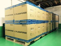 FLASHFORGE JAPAN 3Dプリンター 新規45台入荷しました〜