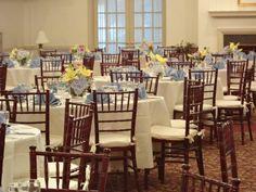 #Tabletop #Decor #Weddings #Yellow #blue #Classic #JLCC @JLCC #Decor #RVA Jefferson Lakeside CC 1700 Lakeside Ave Richmond, VA 23228 804-266-2456