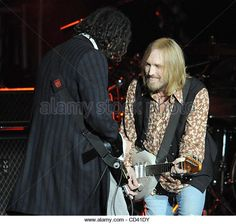Jul 12, 2008 - Raleigh, North Carolina; USA - Musician TOM PETTY perform live as his 2008 tour with the Heartbreakers makes a stop at the Time Warner Cable Music Pavilion located in Raleigh. Copyright 2008 Jason Moore. Mandatory Credit: Jason Moore - Stock Image