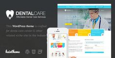 Dentalcare - Medical & Health WordPress Theme by haintheme Dentalcare WordPress Theme is a one-stop solution for dentistry, dental clinics, hospitals, and any kind of websites providing den