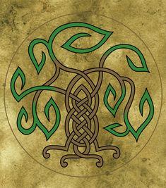 Celtic Tree by wolfsongblue.deviantart.com