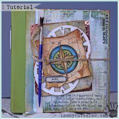 Tuesday Tutorial | Pocket Art Journal - Tammy Tutterow Designs