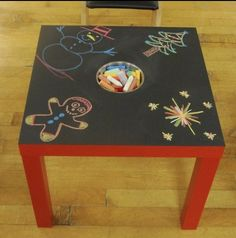 Re-do top of sensory table?