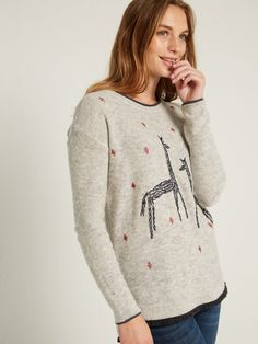 Canter Embroidered Jumper £55