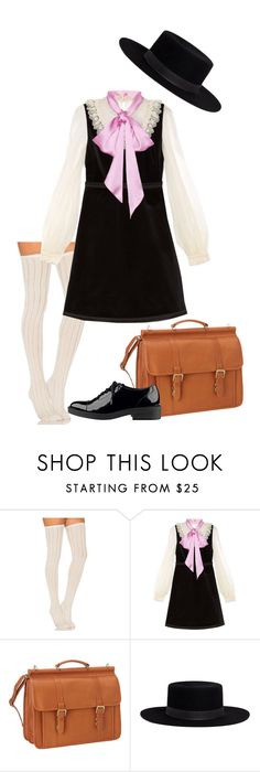 """Untitled #145"" by fantast ❤ liked on Polyvore featuring Free People, Gucci, Le Donne, Janessa Leone and GUESS"