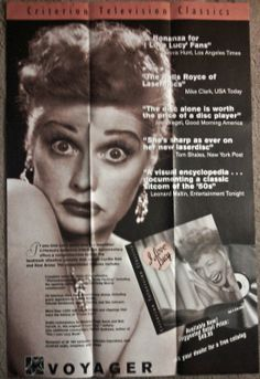 Rare Lucille Ball Poster Excellent Condition I Love Lucy