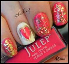 B'Nails: Doing Valentine Already