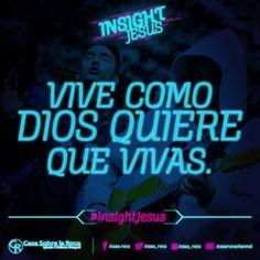¿Estás viviendo tu vida como tu quieres, o como Dios lo quiere?  http://devocional.casaroca.org/rk/13jun #InsightJesus
