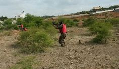 Paintball in Sarjapura