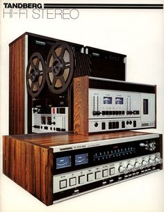 Tandberg HiFi 1977/78. Quite the components in their day. Worth lusting after.