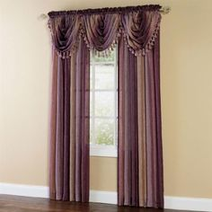 Amazon.com: Brylanehome Ombre Waterfall Valance: Home & Kitchen