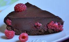 Raspberries and chocolate (gluten and dairy free)