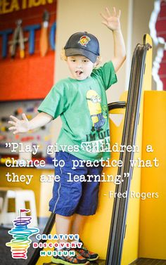 A great place for children to practice what they're learning is the Creative Discovery Museum in Chattanooga, Tenn.!