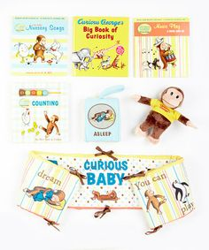 Take a look at this Curious George's Curious Baby Gift Set by Curious George on #zulily today!