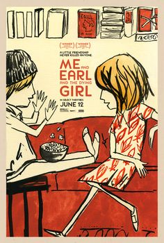 cinema de novo: Novos pôsteres: Me and Earl and the Dying Girl