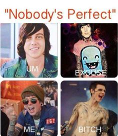 Kellin Quinn, Andy Sixx, Oli Sykes. I don't agree with Christofer Drew tho.