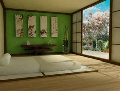 If you are looking for japanese bedroom interior design ideas you've come to the right place. We have 18 images about japanese bedroom interior design Zen Bedroom Decor, Bedroom Green, Master Bedroom Design, Zen Bedrooms, Bedroom Designs, Bedroom Ideas, Bedroom Styles, Earthy Bedroom, Bedroom Small