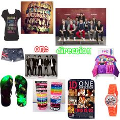 One Direction 3 by stefparsell on Polyvore