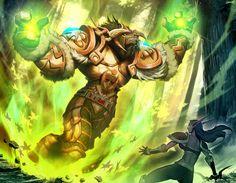 Warcraft - Mark of Cenarius by GENZOMAN.deviantart.com on @deviantART