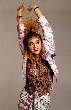 The 6 Top Fashion Trends 2013 presented by Madonna Madonna 80s Fashion, Lady Madonna, 80s And 90s Fashion, Madonna 80s Outfit, 1980s Madonna, Fashion Top, Floral Fashion, Francesco Scavullo, 80s Trends
