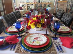 The Welcomed Guest: Father's Day 2015 Tablescape