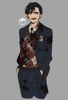Umbrella Art, Under My Umbrella, 5 Anime, Anime Guys, Character Art, Character Design, Desenhos Harry Potter, Number 5, Cartoon Art Styles