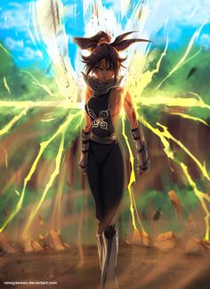 Yoruichi commission by RamzyKamen Top Anime Characters, Bleach Characters, Bleach Fanart, Bleach Manga, Naruto Powers, Bleach Drawing, Samurai Warrior Tattoo, Manga Anime, Ichigo Y Rukia