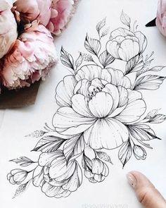 Arm Tattoo, Body Art Tattoos, Girl Tattoos, Sleeve Tattoos, Tattoos For Women, Tatoos, Floral Tattoo Design, Flower Tattoo Designs, Flower Tattoos