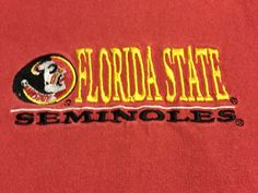Florida State Seminoles Majestic X-Large Short Sleeve Tee T-Shirt XL I1 #Majestic #FloridaStateSeminoles
