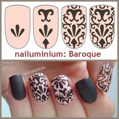 Baroque Nails Tutorial
