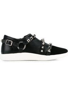'Runner' studded sneakers