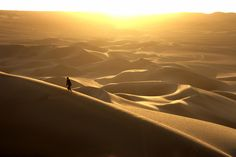 Hubby and I and our 2 oldest played on these dunes and watched the sunset. Sand dunes near Huacachina, Ica, Peru
