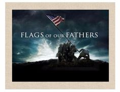 "Flags Of Our Fathers 2006 Ryan Phillippe, Barry Pepper 8""X10"" Desk Size Poster"
