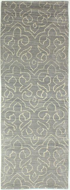 Crestshire Hand-Tufted Grey Area Rug