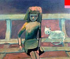 Charles Blackman schoolgirl series - Google Search Australian Painters, Australian Artists, Henry Thomas, Schoolgirl, Alice In Wonderland, Photo Art, Paintings, Sculpture, Google Search