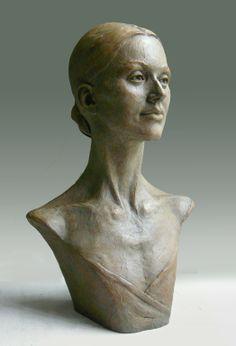 """Saatchi Online Artist: Mark Longworth; Bronze, 2012, Sculpture """"Nela"""""""