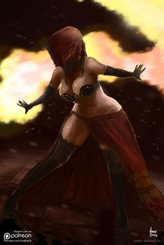 Desert Sorceress by andrerb
