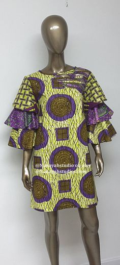 An outfit for Lauren character at formal gatherings. African Dresses For Women, African Print Dresses, African Print Fashion, African Fashion Dresses, African Attire, African Wear, African Women, African Prints, Ankara Fashion