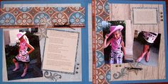 Scrapping with Lori: Don't You Ever Grow Up-Dakota paper pack from CTMH