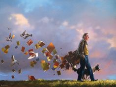 """I'd  call this """"Bookman's haunted stroll