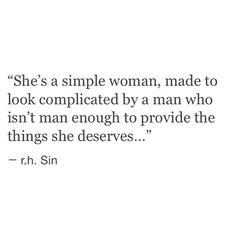 a man who isn't man enough