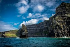 Cliffs of Moher- Co.Clare- Ireland by NadiaMichnikPictures on Etsy Clare Ireland, Cliffs Of Moher, Mountains, Nature, Travel, Etsy, Ireland, Naturaleza, Viajes