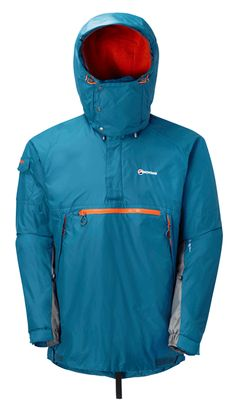 MONTANE (NEW) EXTREME SMOCK - MOROCCAN BLUE The Montane Extreme Smock has become a modern outdoor classic. The first truly technical softshell, single layer mountain smock. Designed and built without compromise. Tested in extreme and hostile conditions for 20 years by mountaineers, climbers and on multiple high Arctic and Antarctic expeditions, the Montane Extreme Smock has become a trusted favourite of Mountain Rescue teams and outdoor professionals across the world.