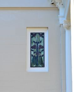 Floral Turnbull Exterior window