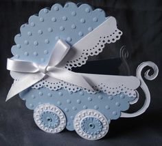 Blue Baby Carriage  Cards, Cardmaking