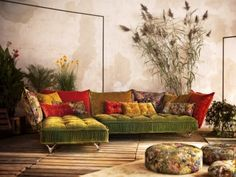 "Sofa ""Ohlinda"": Die leichtfüßige Individualistin"
